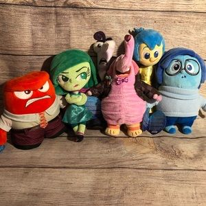 Disney Pixar Inside Out Characters Figures Lot